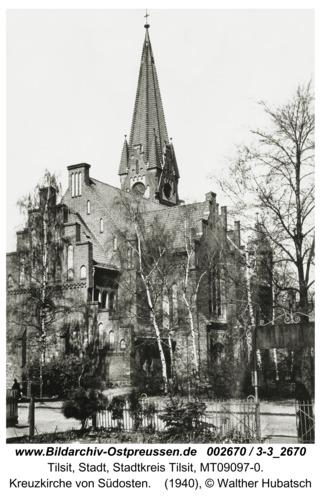 Tilsit, Kreuzkirche von Südosten