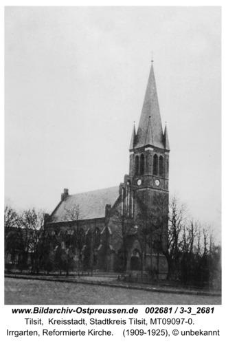 Tilsit, Kreuzkirche von Nordosten