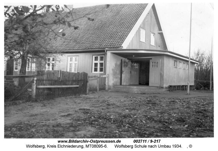 Wolfsberg Schule nach Umbau 1934