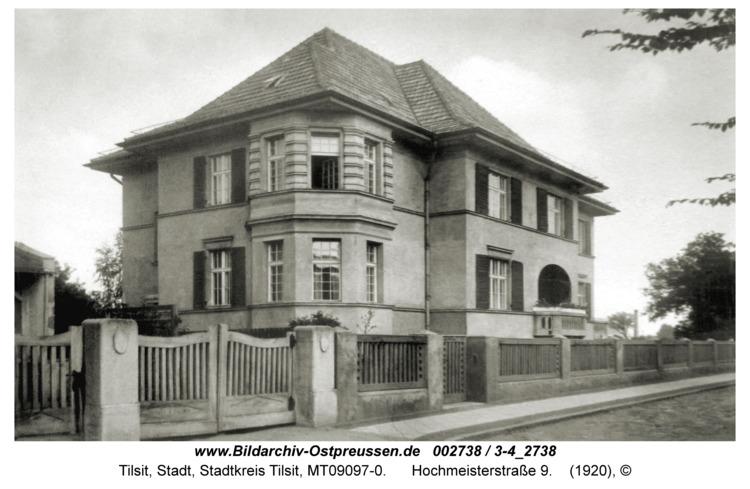 Tilsit, Hochmeisterstraße 9