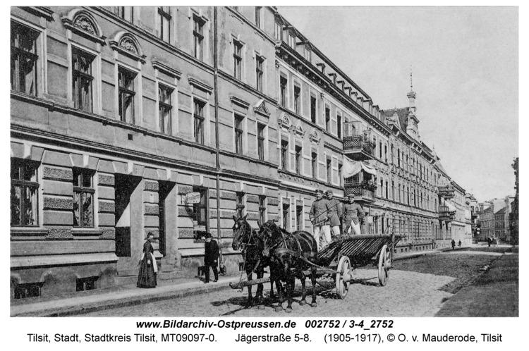 Tilsit, Jägerstraße 5-8