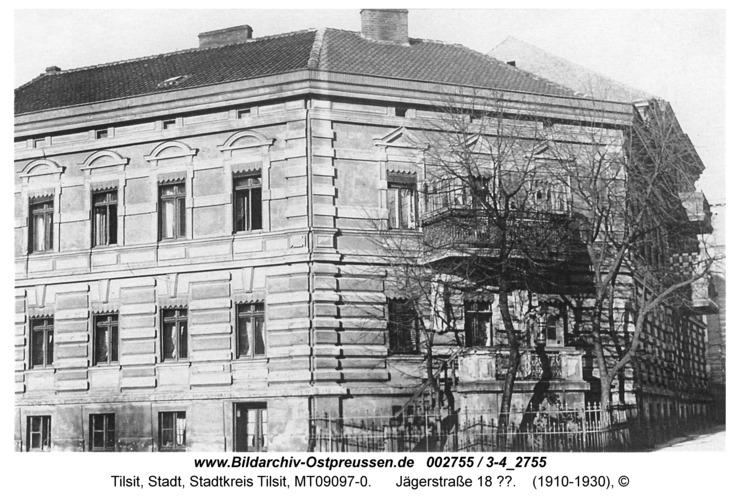 Tilsit, Jägerstraße 18 ??