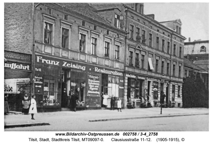 Tilsit, Clausiusstraße 11-12