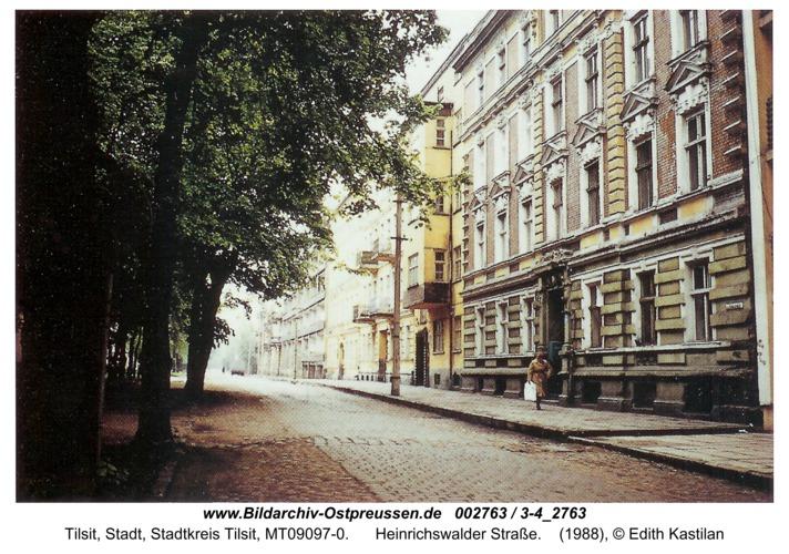 Tilsit, Heinrichswalder Straße