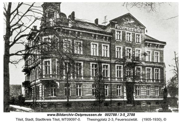 Tilsit, Thesingplatz 2-3, Feuersozietät