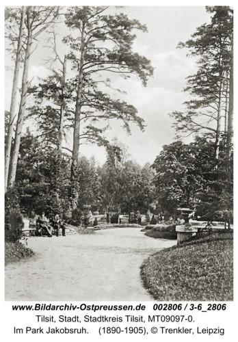 Tilsit, Im Park Jakobsruh