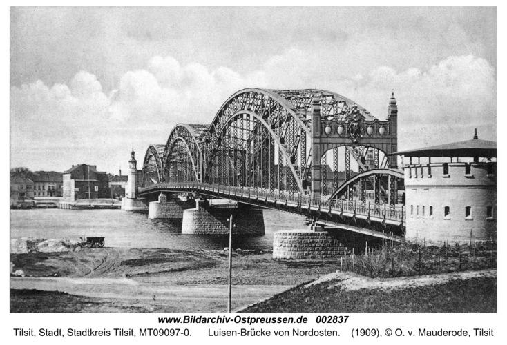 Tilsit, Luisen-Brücke von Nordosten