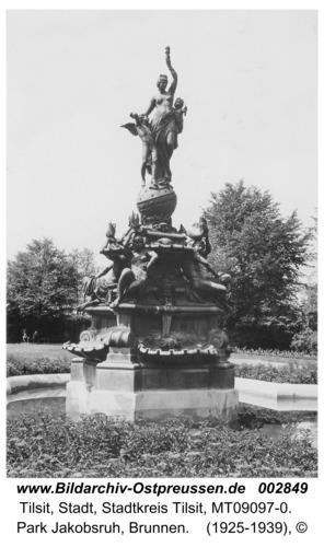 Tilsit, Park Jakobsruh, Brunnen