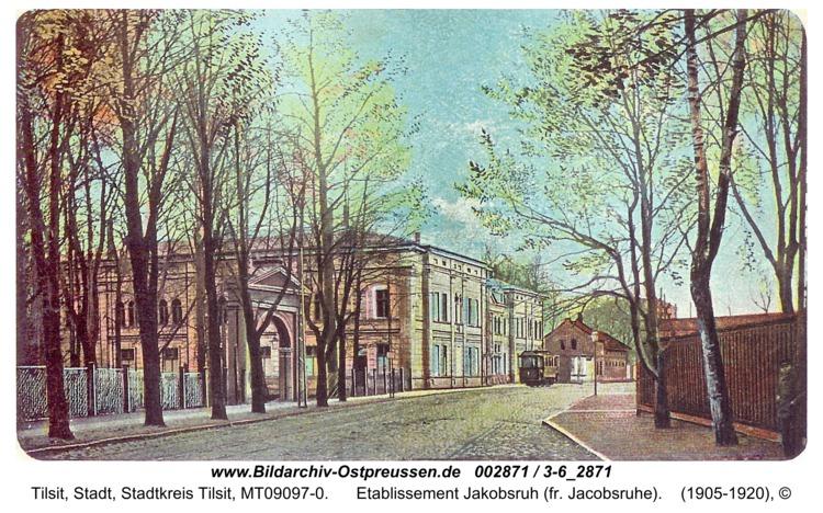 Tilsit, Etablissement Jakobsruh (fr. Jacobsruhe)