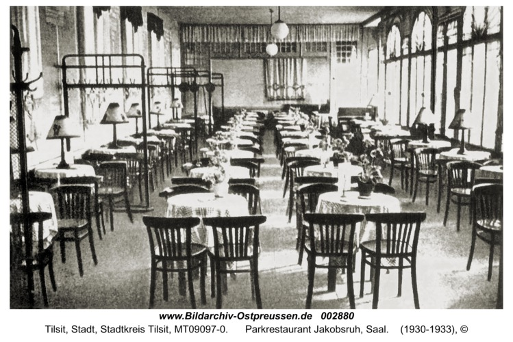 Tilsit, Parkrestaurant Jakobsruh, Saal