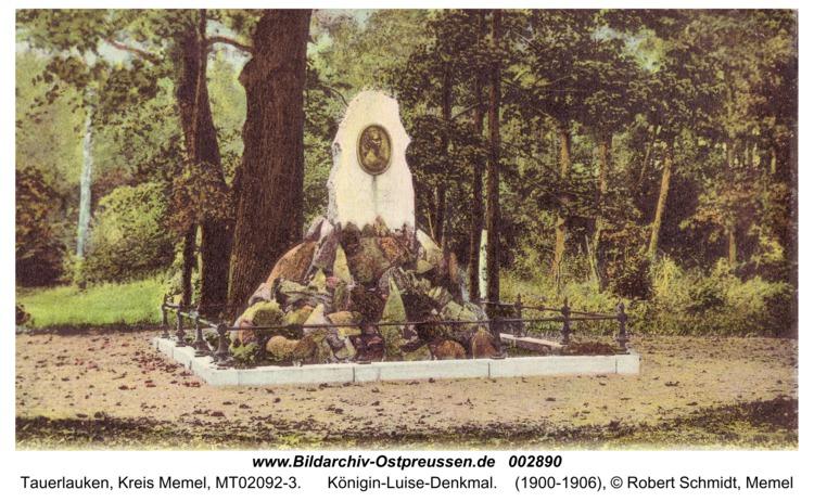 Tauerlauken, Königin-Luise-Denkmal