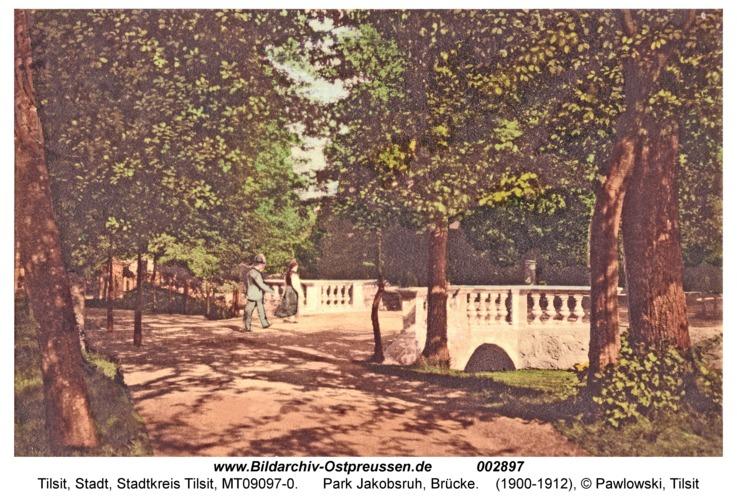 Tilsit, Park Jakobsruh, Brücke