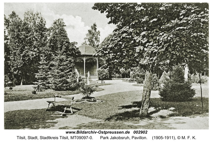 Tilsit, Park Jakobsruh, Pavillon