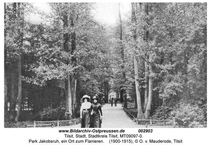 Tilsit, Park Jakobsruh, ein Ort zum Flanieren