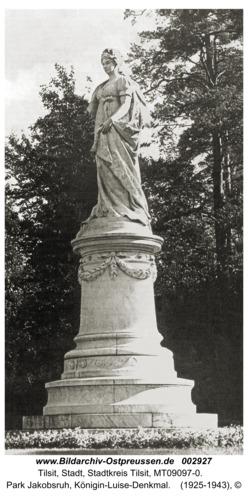 Tilsit, Park Jakobsruh, Königin-Luise-Denkmal