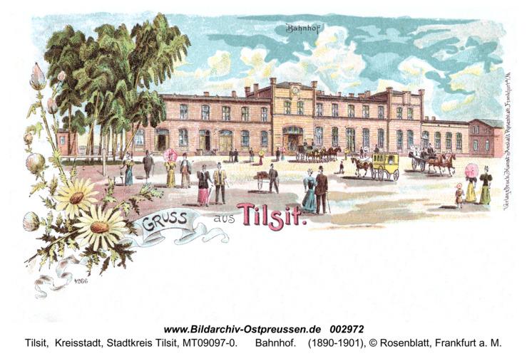 Tilsit, Bahnhof