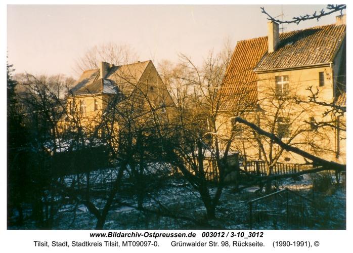 Tilsit, Grünwalder Str. 98, Rückseite