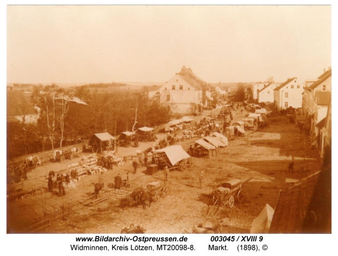Widminnen, Markt