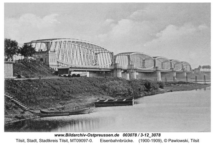 Tilsit, Eisenbahnbrücke