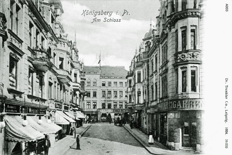 Königsberg, Am Schloß