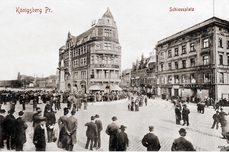 Königsberg, Schloßplatz