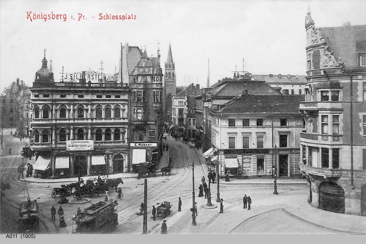 Königsberg, Münzplatz, Junkerstraße, Ecke Münzstraße
