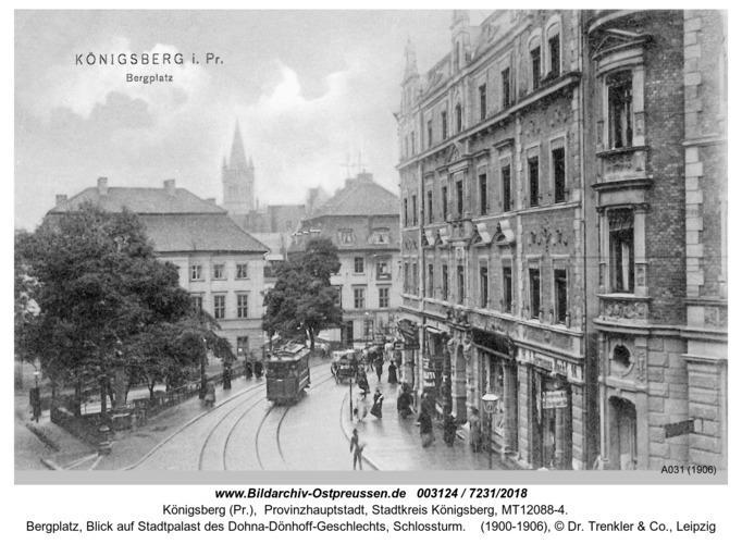 Königsberg, Bergplatz, Schloßturm