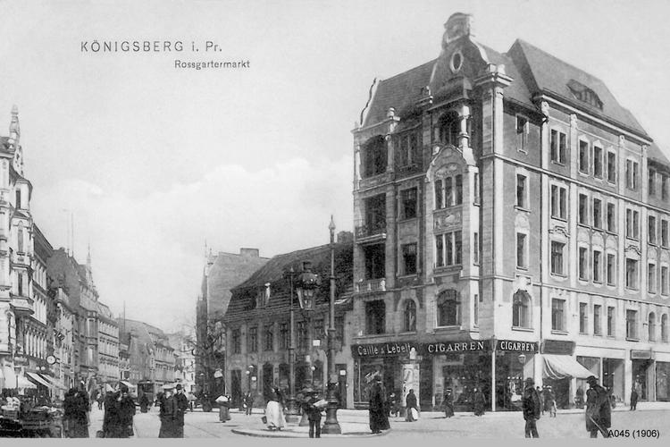 Königsberg, Roßgärter Markt, Vorderroßgarten