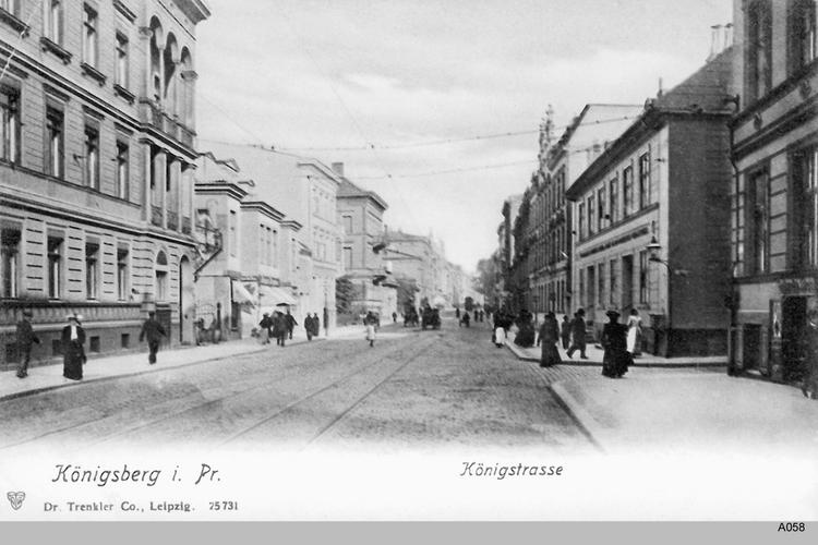 Königsberg, Königstraße