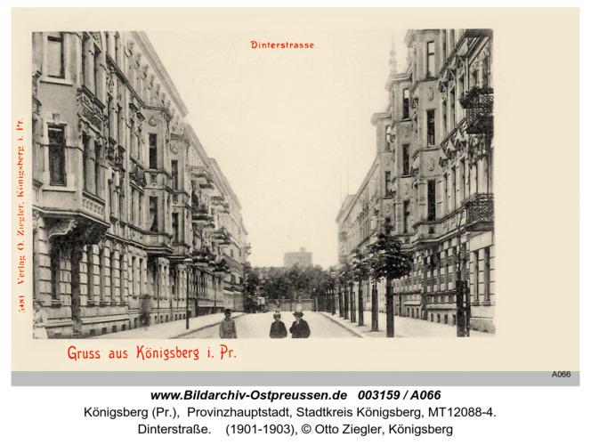 Königsberg, Dinterstraße
