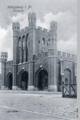 Königsberg, Königstor vom Städtischen Waisenhaus