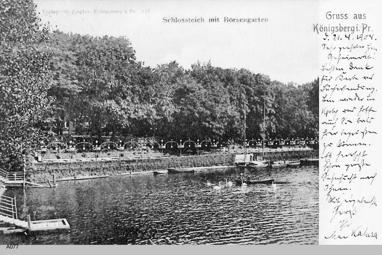 Königsberg, Schloßteich, Börsengarten