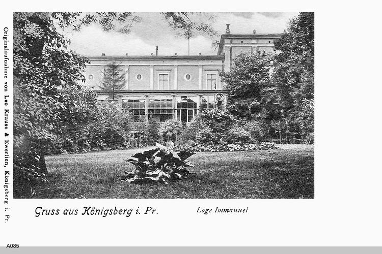 Königsberg, Loge Immanuel