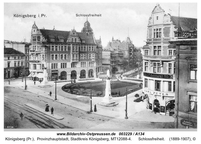 Königsberg, Schloßfreiheit