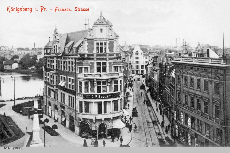 Königsberg, Französische Straße