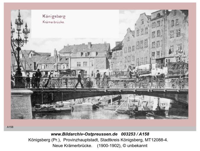 Königsberg, Krämerbrücke