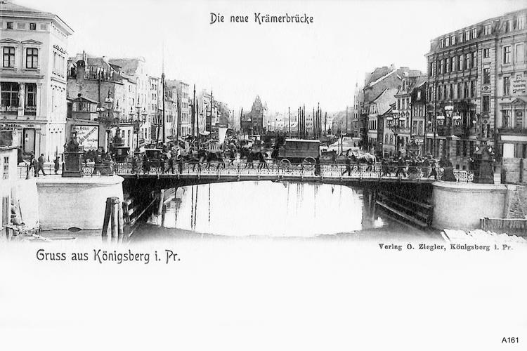 Königsberg, Neue Krämerbrücke