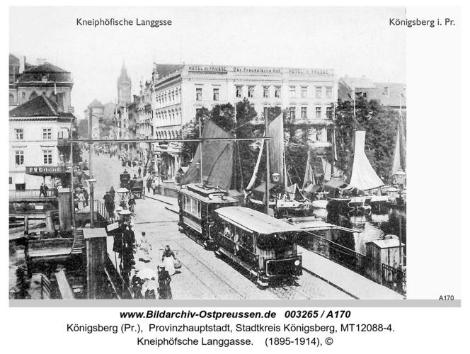 Königsberg, Kneiphöfische Langgasse