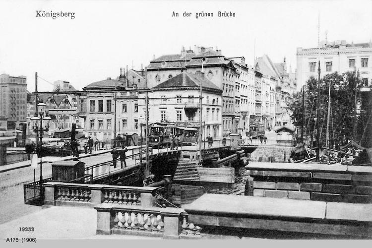 Königsberg, An der grünen Brücke