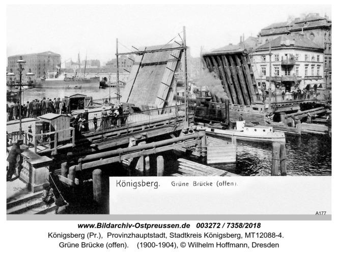 Königsberg, Grüne Brücke (offen)
