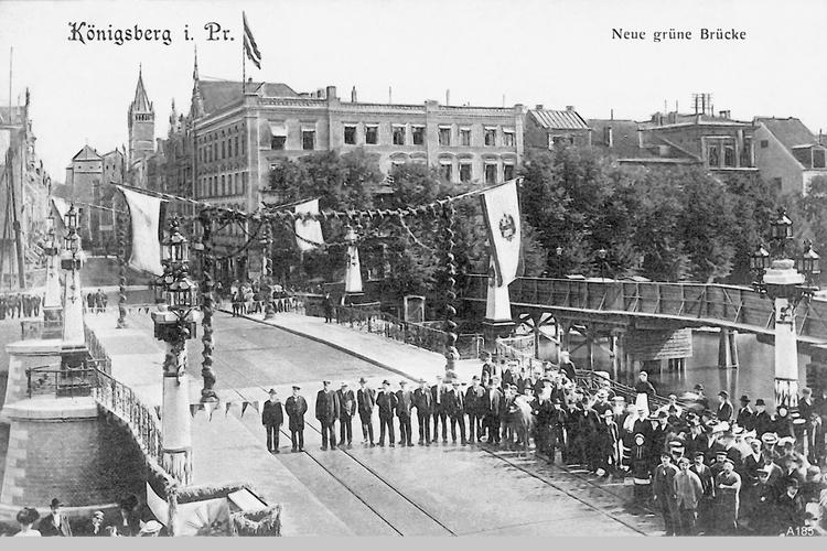 Königsberg, Neue Grüne Brücke