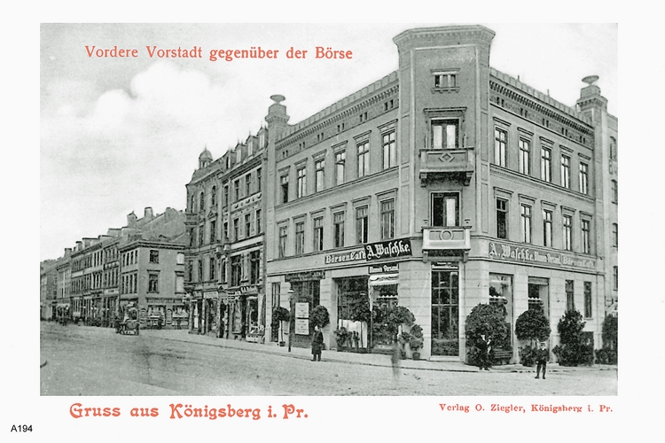 Königsberg, Börsen-Café