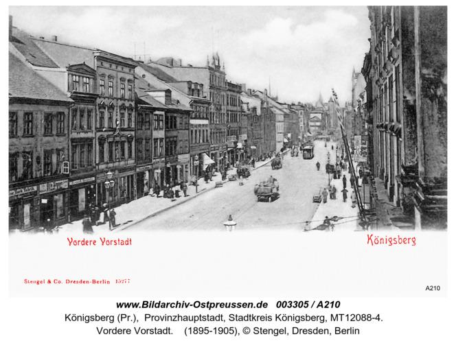 Königsberg Vordere Vorstadt