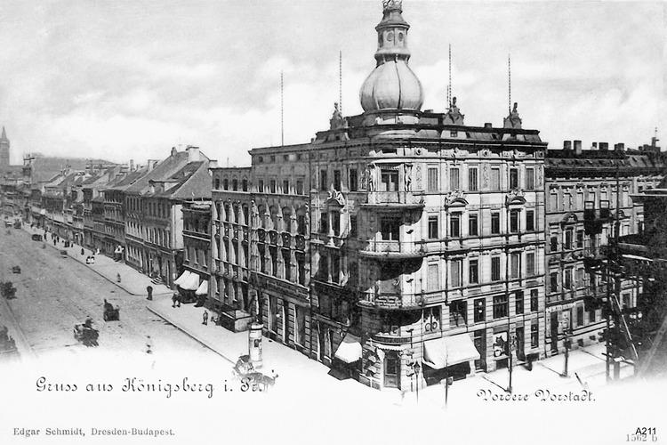 Königsberg, Vordere Vorstadt