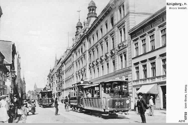 Königsberg, Hintere Vorststadt
