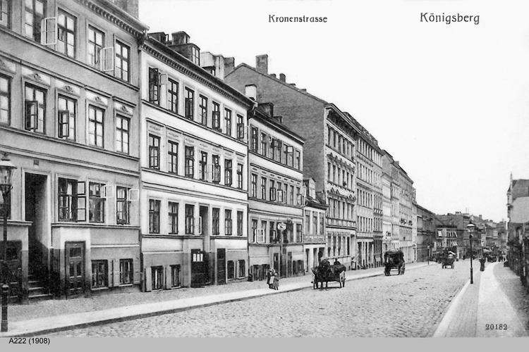 Königsberg, Kronenstraße