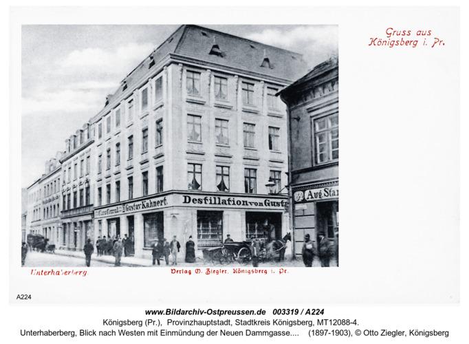 Königsberg, Unterhaberberg