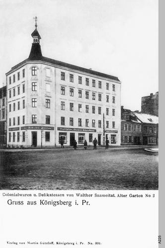Königsberg, Colonialwaren Walther Szammeitat