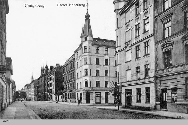 Königsberg, Oberer Haberberg