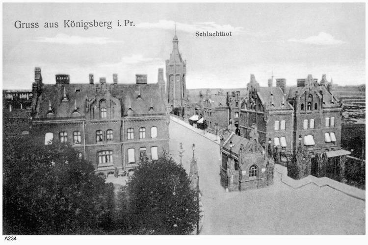 Königsberg, Schlachthof
